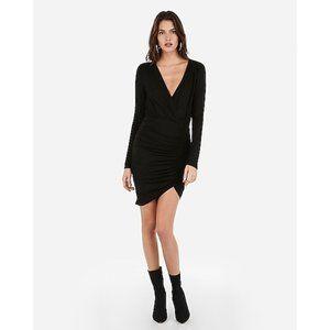NWT Express Olivia Culpo Surplice Sheath Dress M
